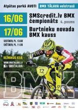 Vērienīgas BMX sacensības Valmierā
